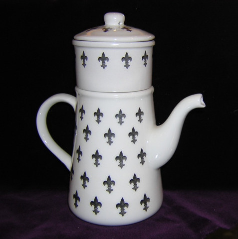 A French Drip Coffee Pot
